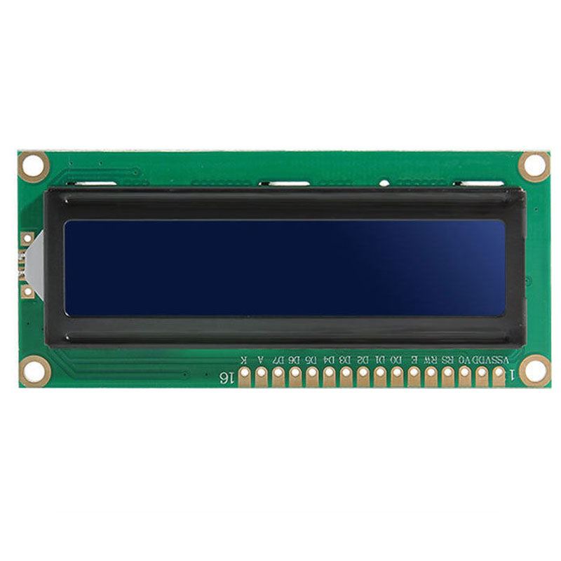 10PCS 1602 16x2 HD44780 Character LCD Display Module LCM blue blacklight NEW