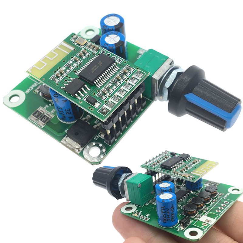 Details about TPA3110 Bluetooth 4 2 Digital Amplifier Board Audio Stereo  2x15W Output Power