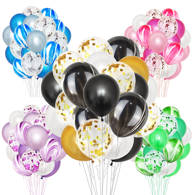"20PCS 12/"" Colorful Helium Confetti Balloon Birthday Wedding Party Decoration New"