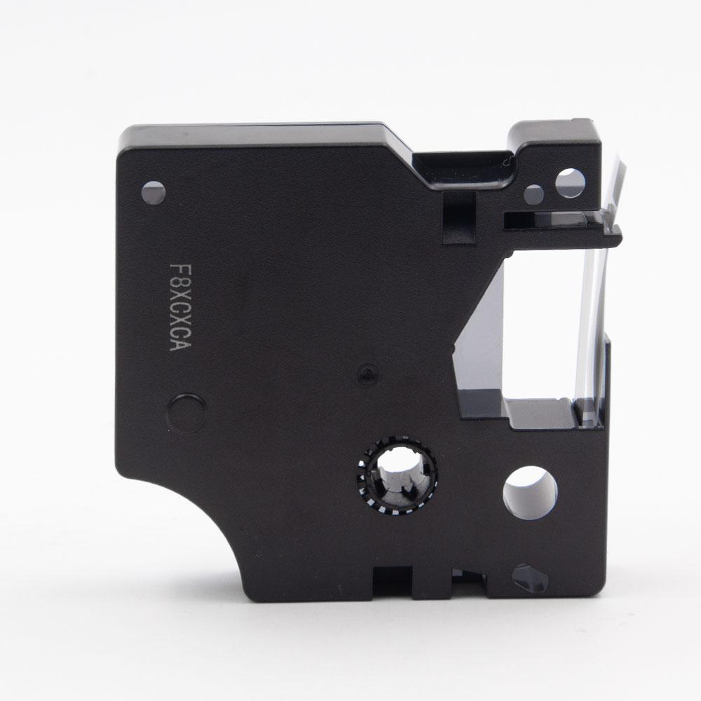 3x Schriftband Kasette für DYMO 45010 7m//12mm Schwarz auf Klar LM 500TS 450D