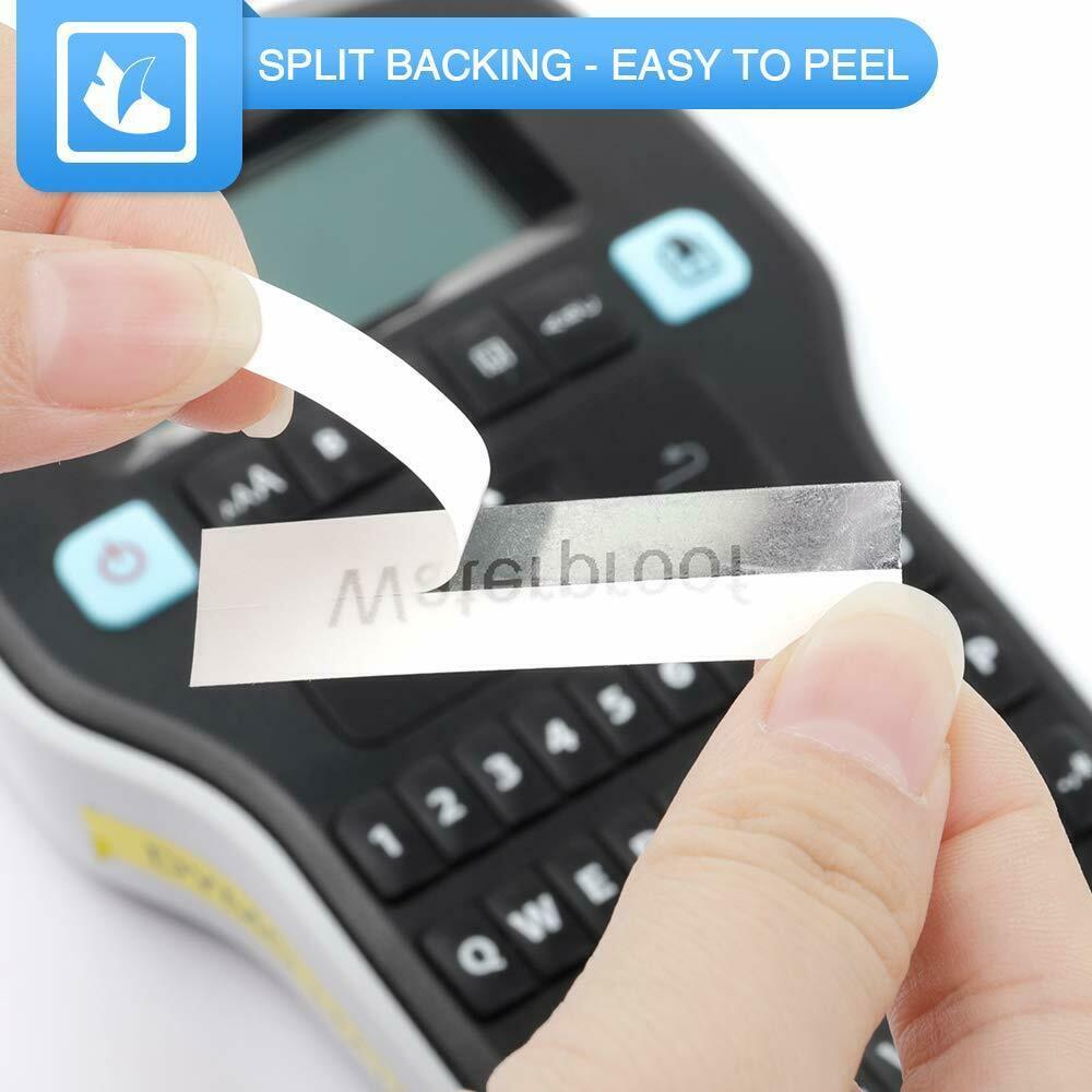 compatibel mit Brother Beschriftungsmachine PT-P750W 18mm x 8m f/ür P-Touch PT-D400 5er Packung tze241 tz241 tze 241 Schriftband schwarz auf wei/ß 9600 PT-9700 E550W PT-P700