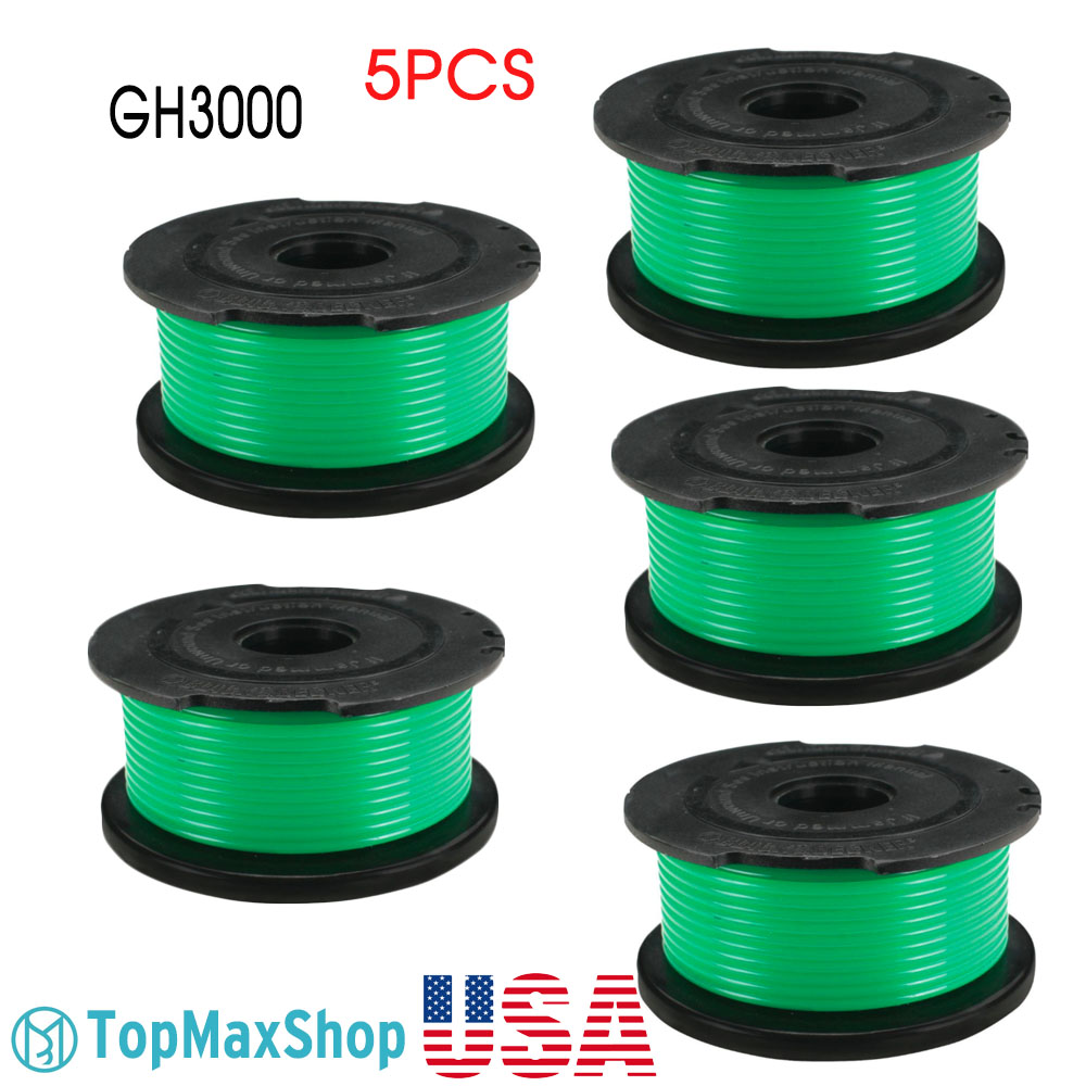 Details about 5 Pack Black & Decker SF-080 Auto Feed String Trimmer Spool  Line Replacement US