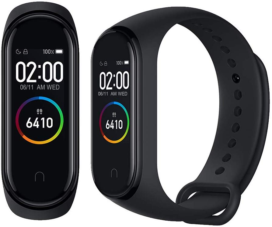 Xiaomi-Mi-Smart-Band-4-Bracelet-pour-la-detection-d-039-activite-AMOLED-2-41-Noir