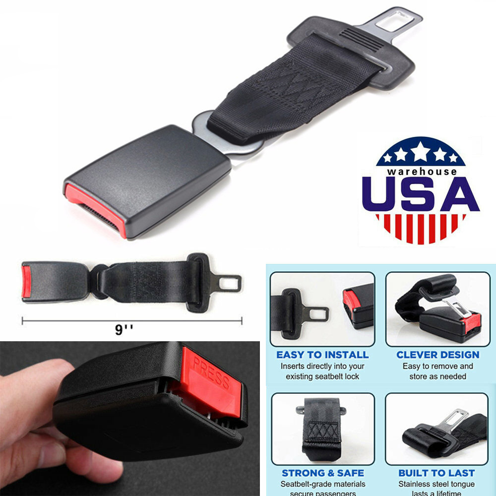 Pregnant Women and Child Seats 3 Packs Seat Belt Extender Seatbelt Extensions for Obese