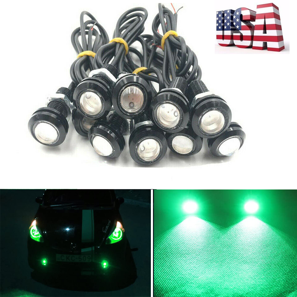 Daytime Running Lights LED Eagle Eye Lights Bumper Fog Light Motorcycle Light Tail Backup Light for Car Van SUV Motorcycle Etc