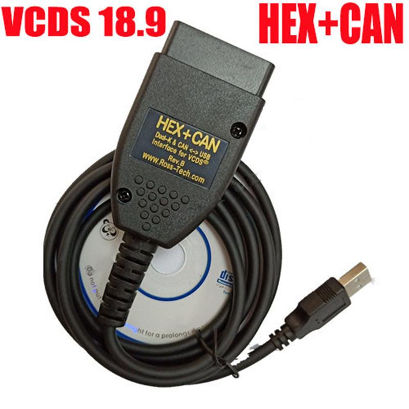 VAG COM 18 9 VCDS Diagnoseschnittstelle FÜR VW AUDI Skoda