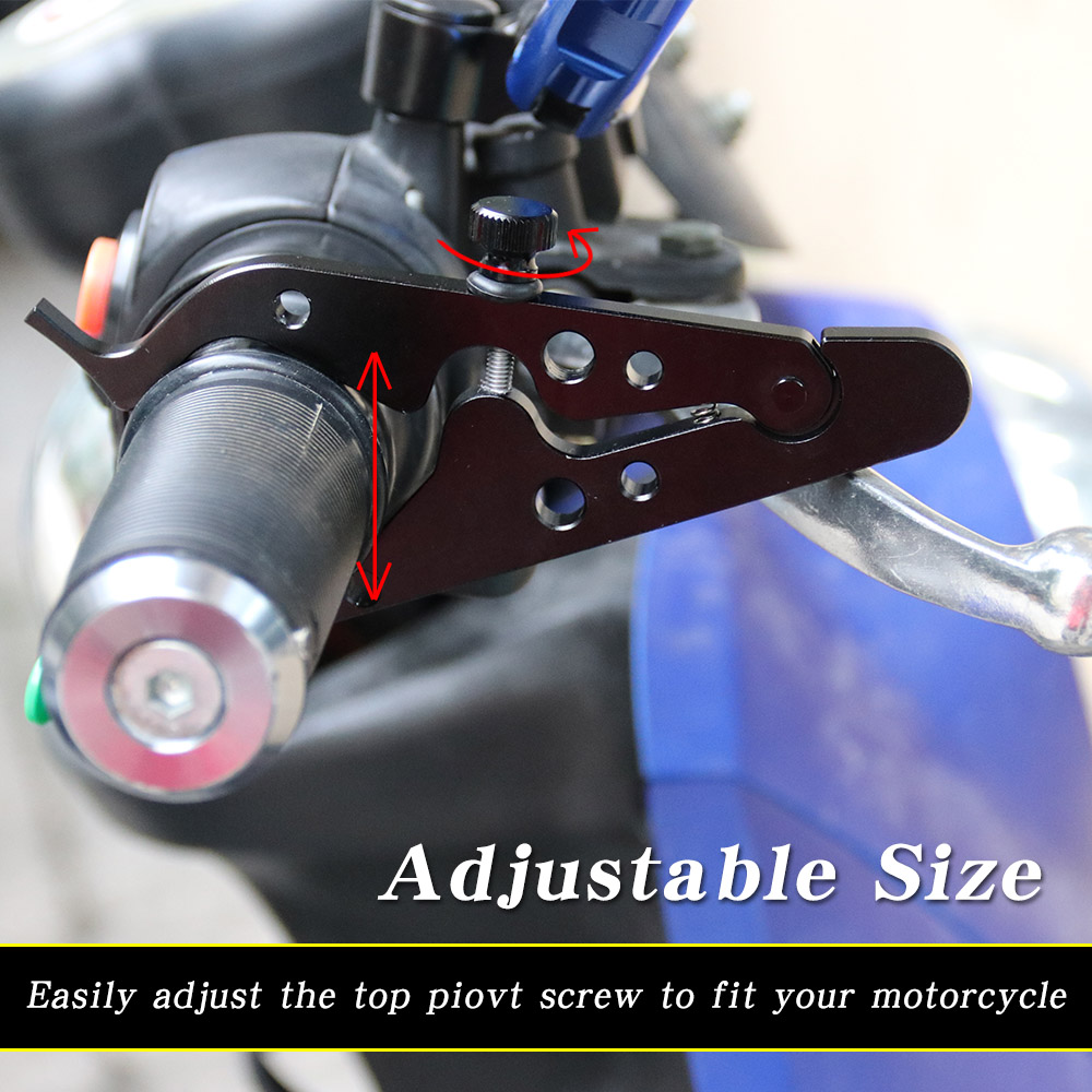 Motorcycle Cruise Control Throttle Lock Assist Retainer Wrist Grip Universal
