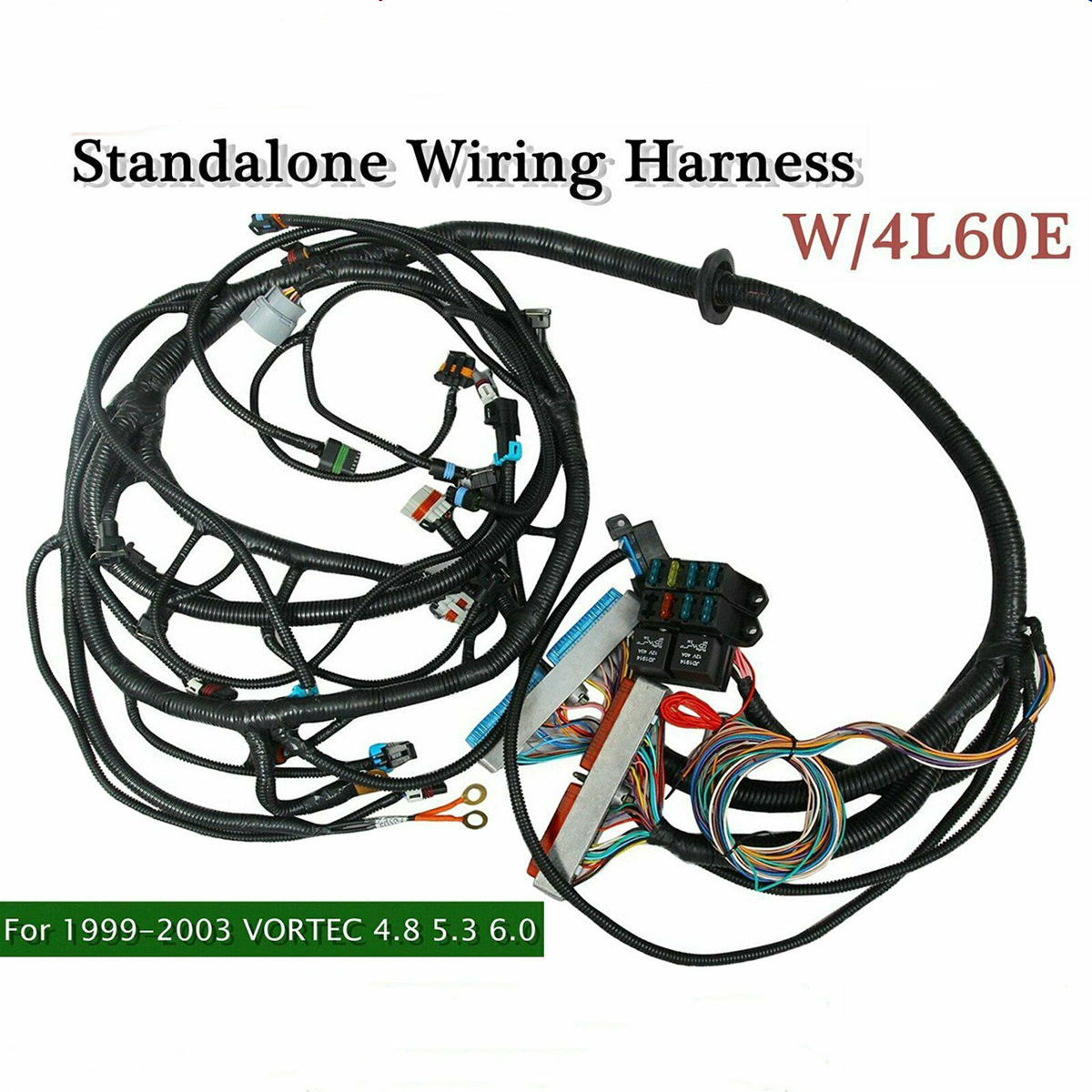 Automotive 1997 2006 Dbc Ls1 Stand Alone Harness W 4l80e 4 8 5 3 6 0 Vortec Drive By Cable Fuel Inject Controls Parts