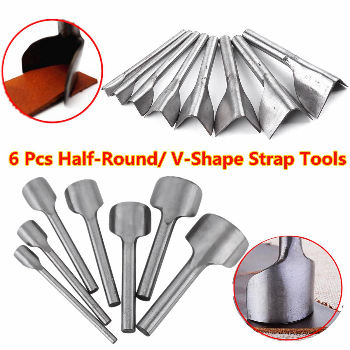 15mm Leather Craft Half-Round Cutter Punch Strap Tools Belt Wallet End DIY