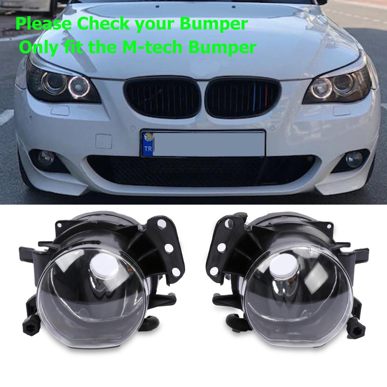2PCs Front L+R Side Marker Lamp Fender Light For BMW E60 525i 530i 545i 550i M5