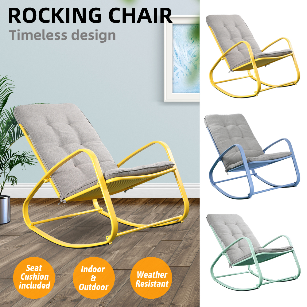 Rocking Chair Cushions Outdoor, Outdoor Furniture Rocking Chair Cushions