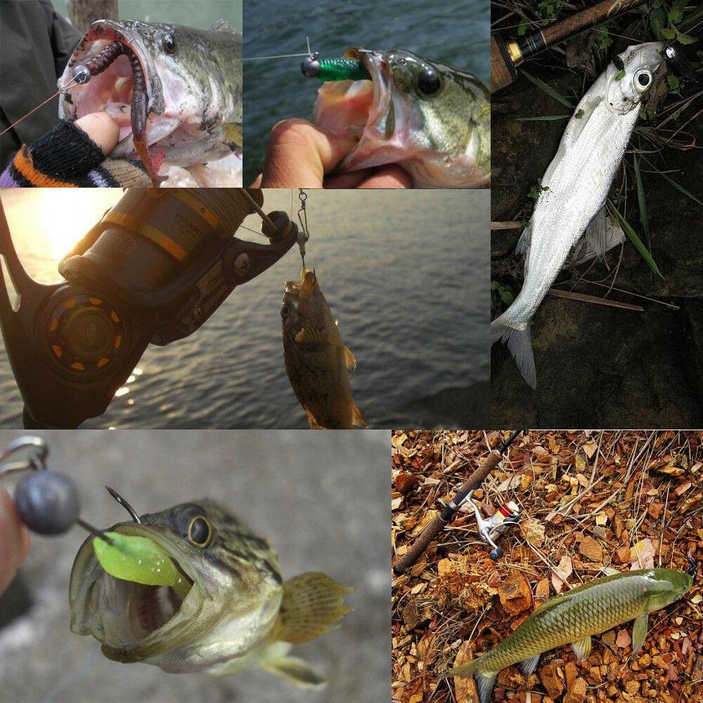 5pcs Lead Jig Head Fishing Hooks 1g 2g 3.5g 5g 6g 7g Freshwater Saltwater Trout