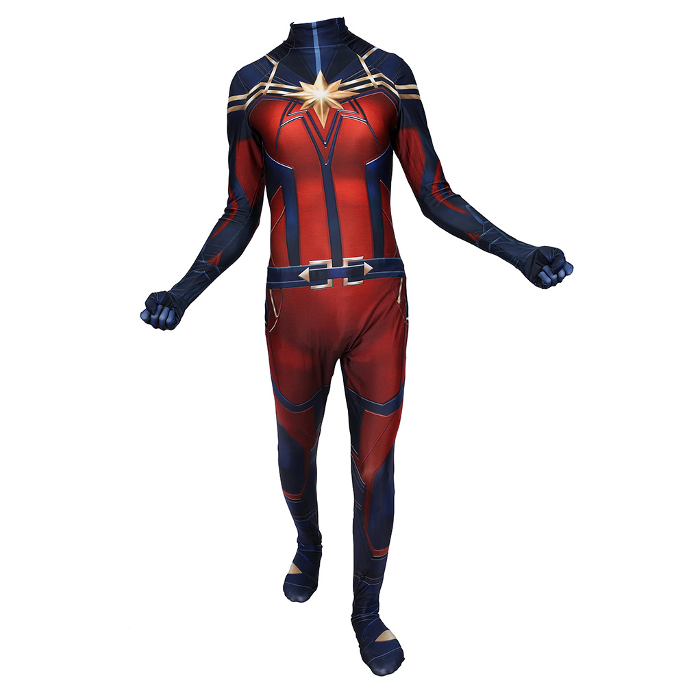 Ms Marvel Captain Marvel Carol Cosplay Costume Jumpsuit Customized Halloween Cos Ebay Try our free drive up service, available only in the target app. ebay