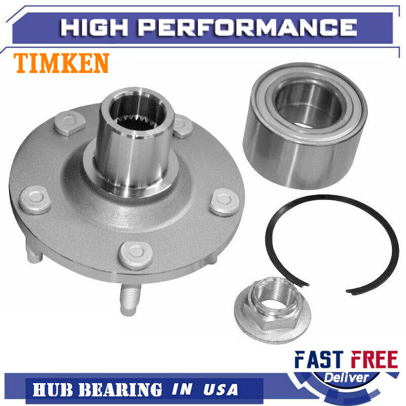 Included with Two Years Warranty 2001 fits Mazda Tribute Rear Wheel Bearing Note: 4WD, FWD Left and Right - Two Bearings