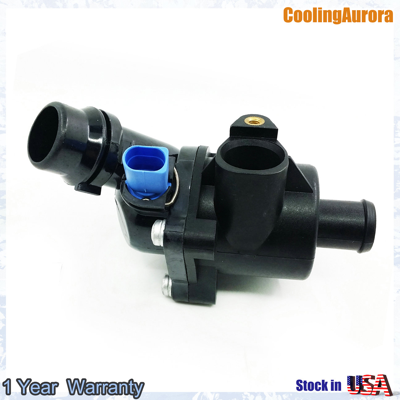 Engine Coolant Thermostat Kit 06B121111K for VW Passat for Audi B6 1.8T