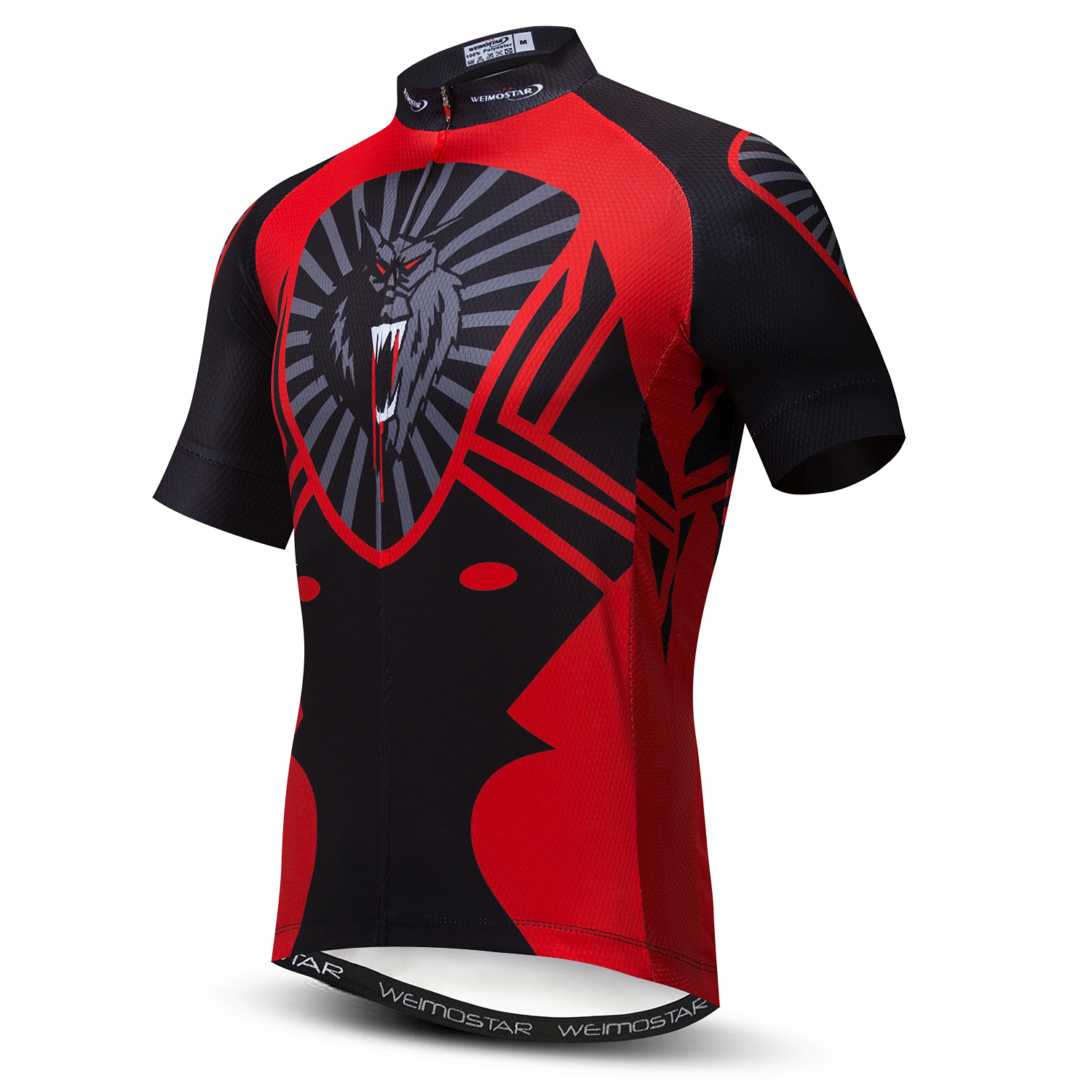 WEIMOSTAR Men/'s Cycling Jersey Team Bike Clothing Short Sleeve Bicycle T-Shirt
