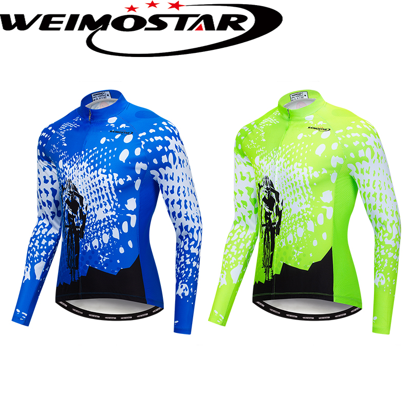 Details about Weimostar Cycling Jersey Bicycle Clothing MTB Bike Long Sleeve  Sport Shirt Tops dd0fbcab2