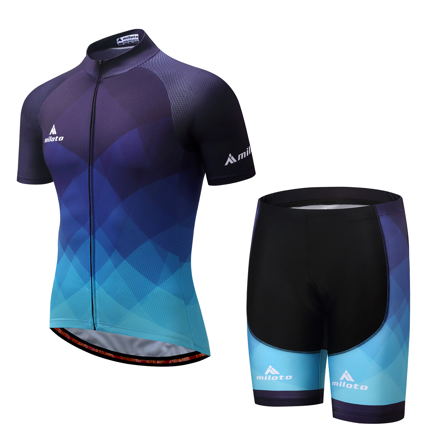 2019 Summer Men/'s Cycling Jersey Bicycle Short Sleeve T-Shirt Bike Clothing Tops