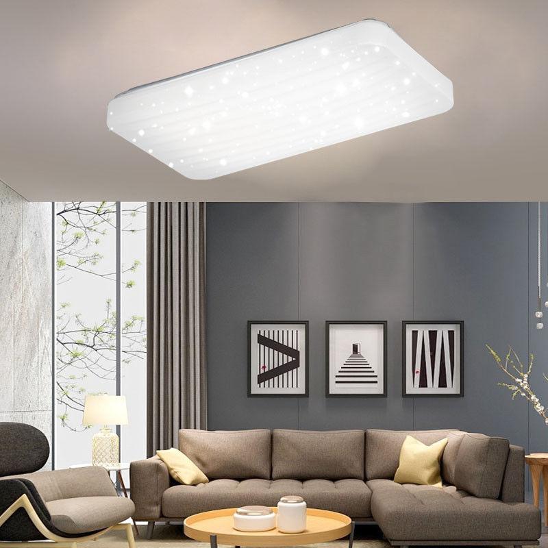 Led dimmbar deckenleuchte deckenlampe effektlampe wandlampe wohnzimmer licht ebay - Wandlampe wohnzimmer ...