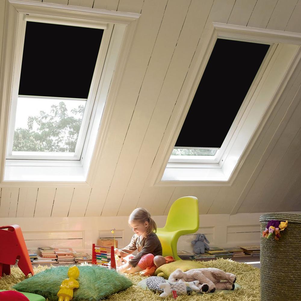 Dachfenster rollo passend f r dkl ggl ggu verdunkelung - Verdunkelungsrollo fur dachfenster ...