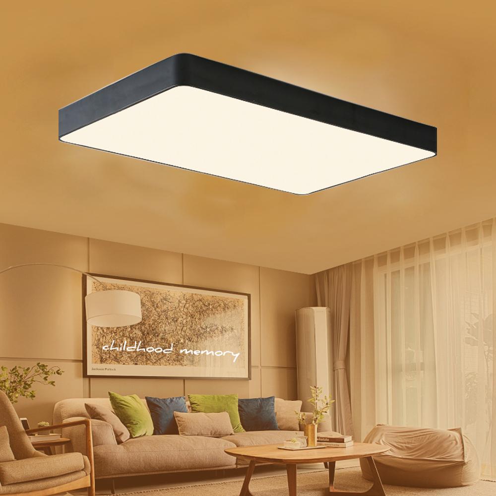 18w 48w acryl dimmbar deckenleuchte led deckenlampe wandlampe schlafzimmer ebay. Black Bedroom Furniture Sets. Home Design Ideas