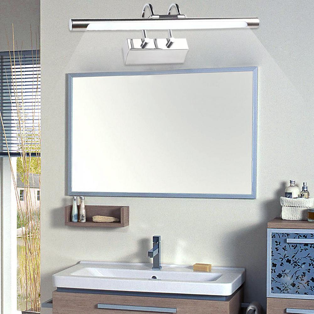 14w led spiegellampe badleuchte spiegelschrank leuchte spiegelleuchte wandlampe ebay. Black Bedroom Furniture Sets. Home Design Ideas