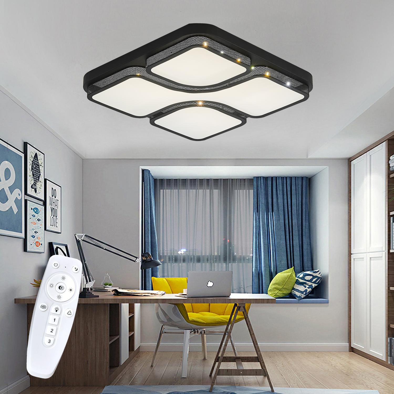 Deckenlampe Wohnzimmer Esszimmer Deckenlampe Led Modern Dimmbar Chrom O 45cm Lampen Fur Wohnzimmer Esszimmer Deckenleuchten