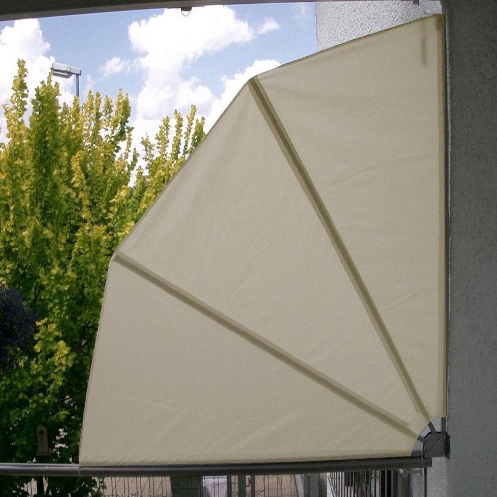 Balkon Sichtschutz Sichtschutzfolie 160cm Beige