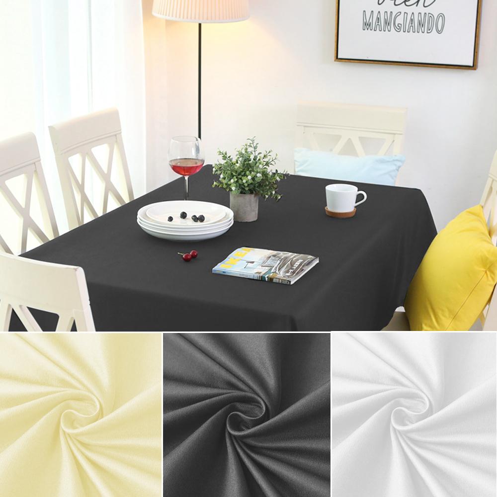 Tischdecke Lotuseffekt Leinenoptik Tischtuch Stoff Fleckschutz