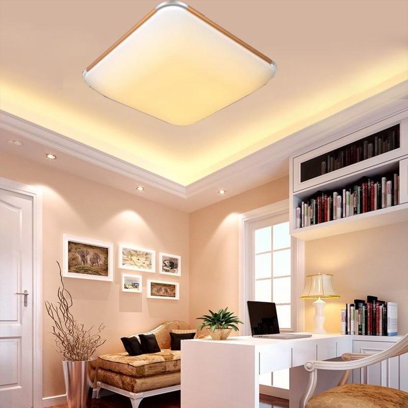 Wohnzimmer Lampe Dimmbar : ultraslim led deckenleuchte panel lampe k che wohnzimmer ~ Watch28wear.com Haus und Dekorationen