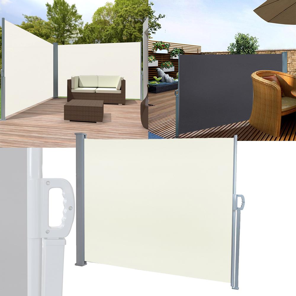Alu Seitenmarkise Sonnenschutz Windschutz Sichtschutz Markise Camping Terrasse