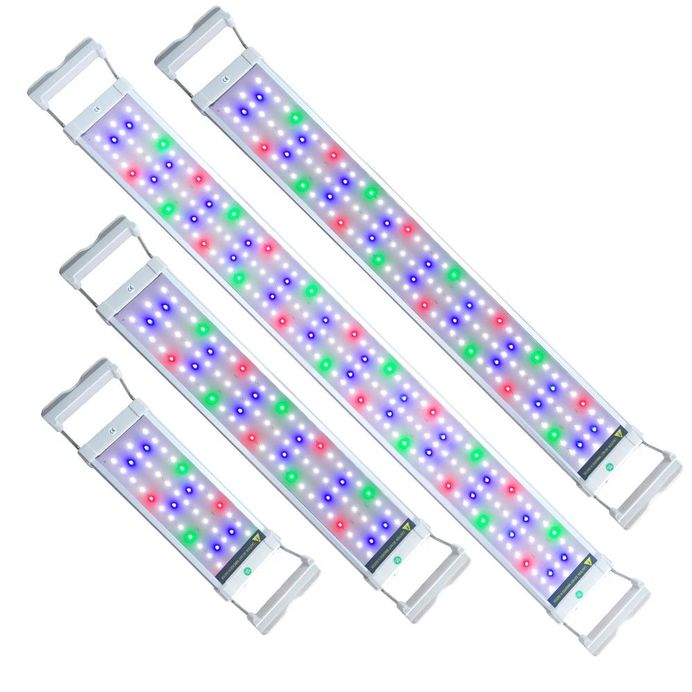 LED Aquarium Beleuchtung 6 25W Aufsetzleuchte Lampe Volles