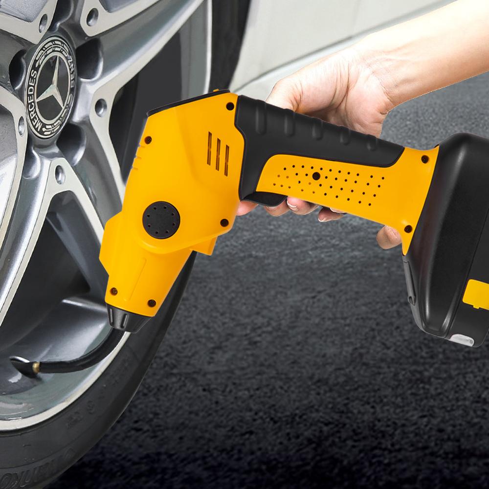 1X Digital Reifen FüLler Manometer Luft Kompressor Pumpe Schnell Kupplung f K6P6