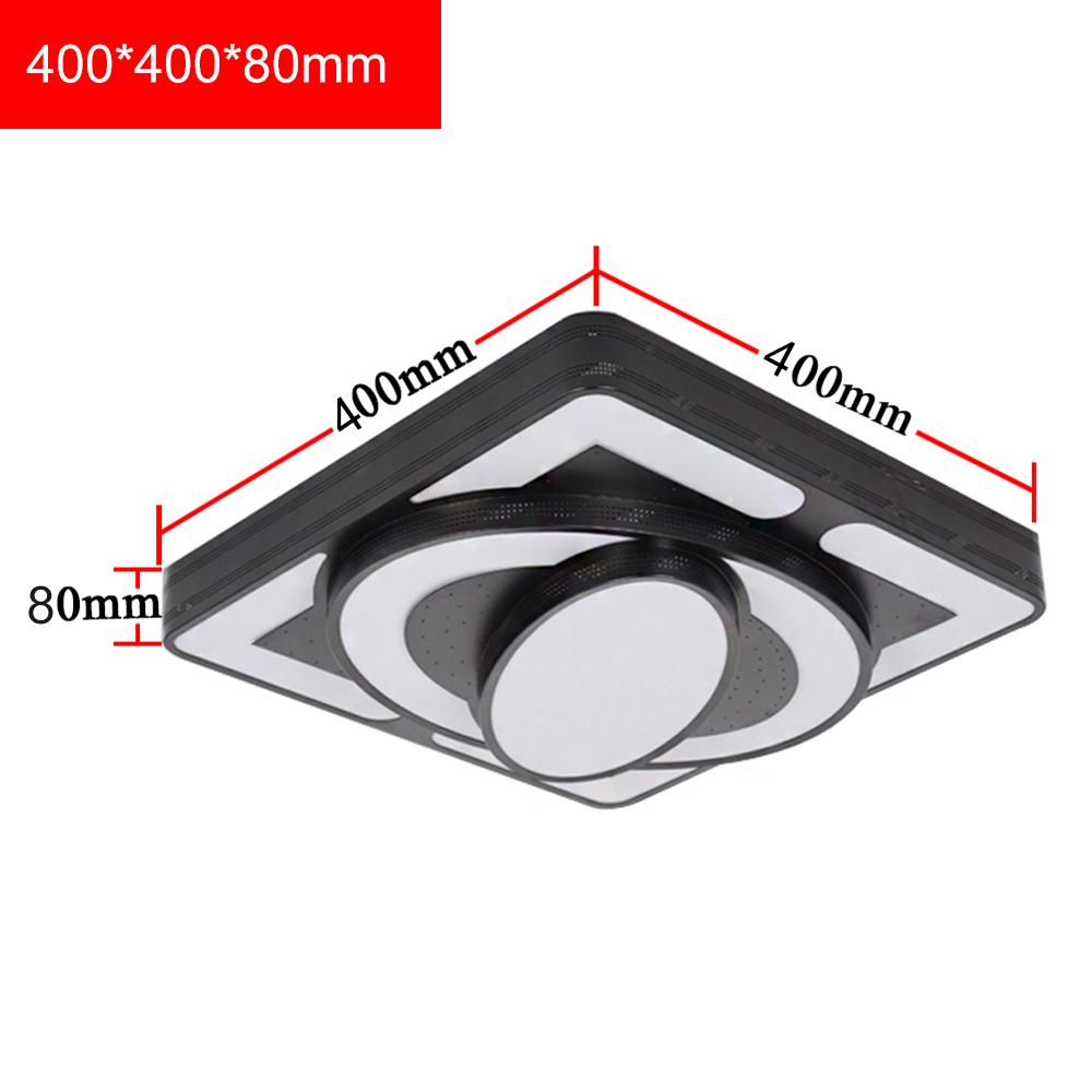 54W LED Deckenleuchte Dimmbar Deckenlampe Wohnzimmer Küche Badleuchte Massiv DE