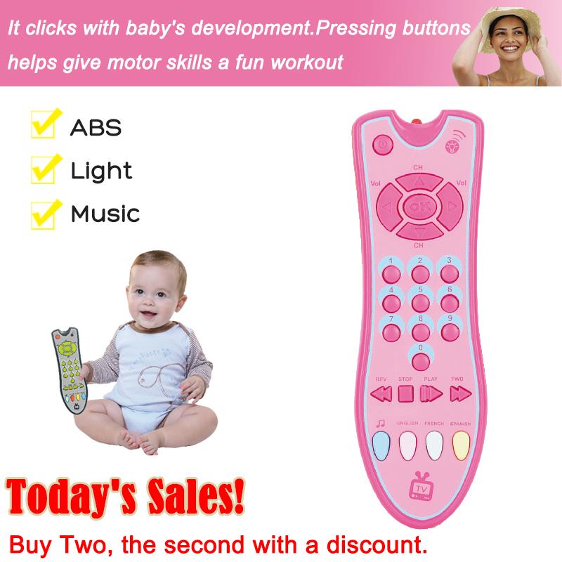 Clementoni Baby Fernbedienung Elektrisches Spielzeug Kinder Lernspielzeug Musik