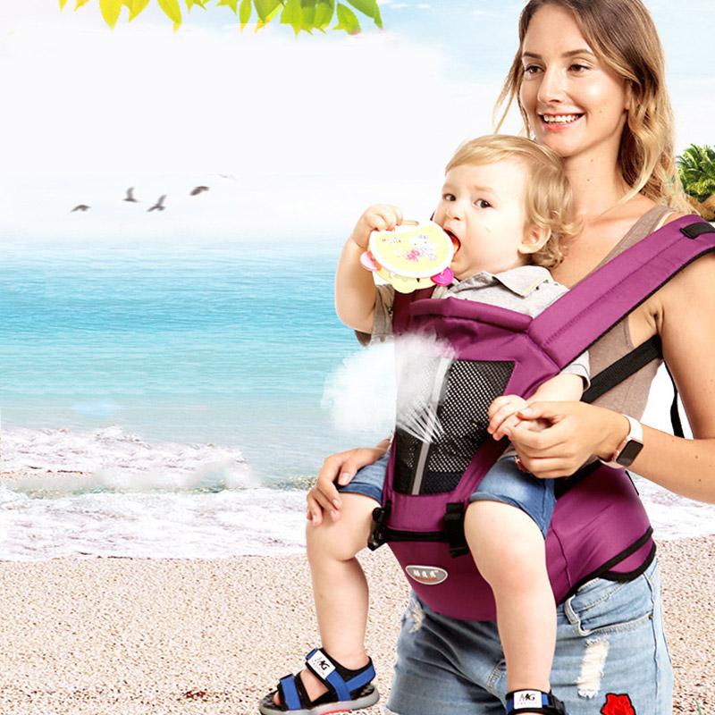 Babytrage Carrier Taille Hocker Walker Kinder Sling Gürtel Kleinkind Hüftsitz DE