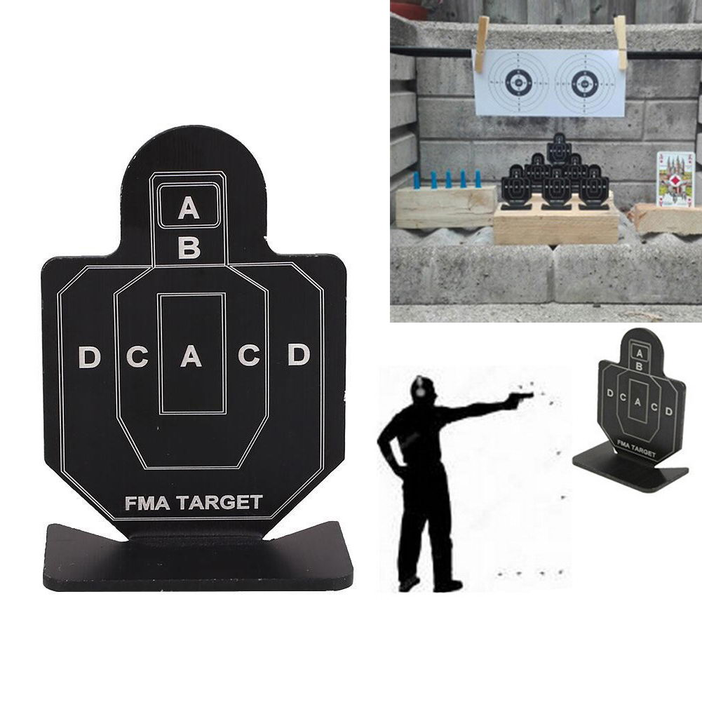 98a8dc0c98d4b Details about 1PCS Outdoor Metal Airsoft Tactical Hunting Shooting Target  Practice Accessories