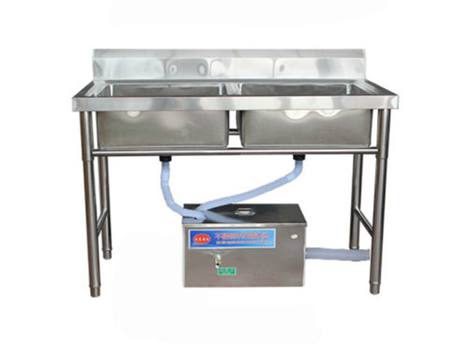 Commercial Stainless Steel Under Sink Grease Trap Kitchen Kit Grease ...