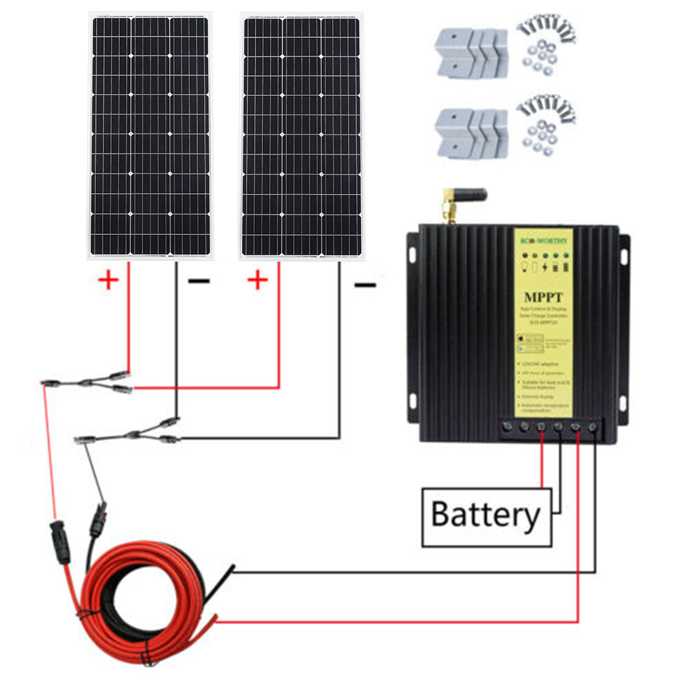 Inverter Circuit Diagram 200 Watt Rv Solar Panel Kit 200watt Solar on