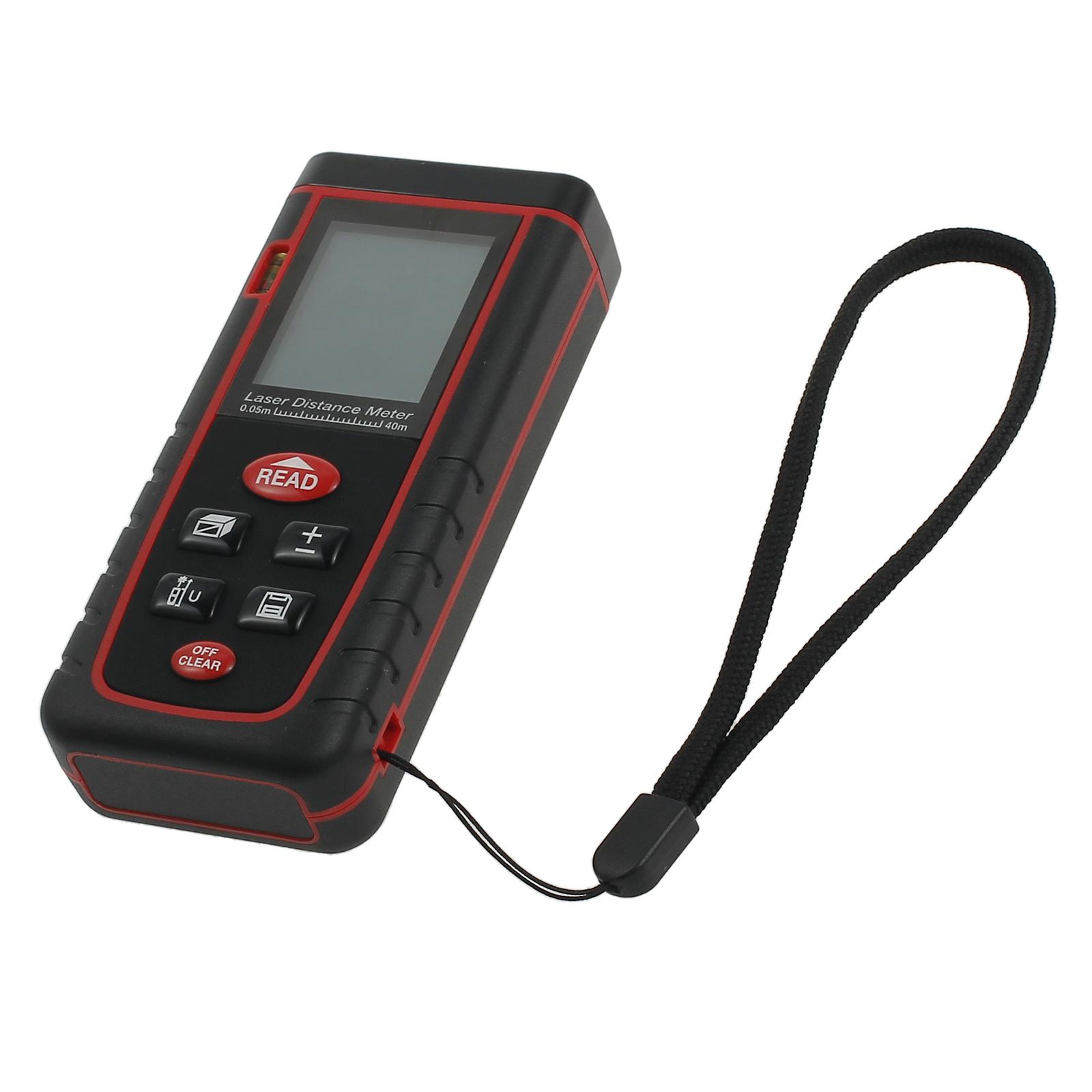 1x 40m Digital LCD Laser Entfernungsmesser Distanzmesser Abstandsmesser Finder