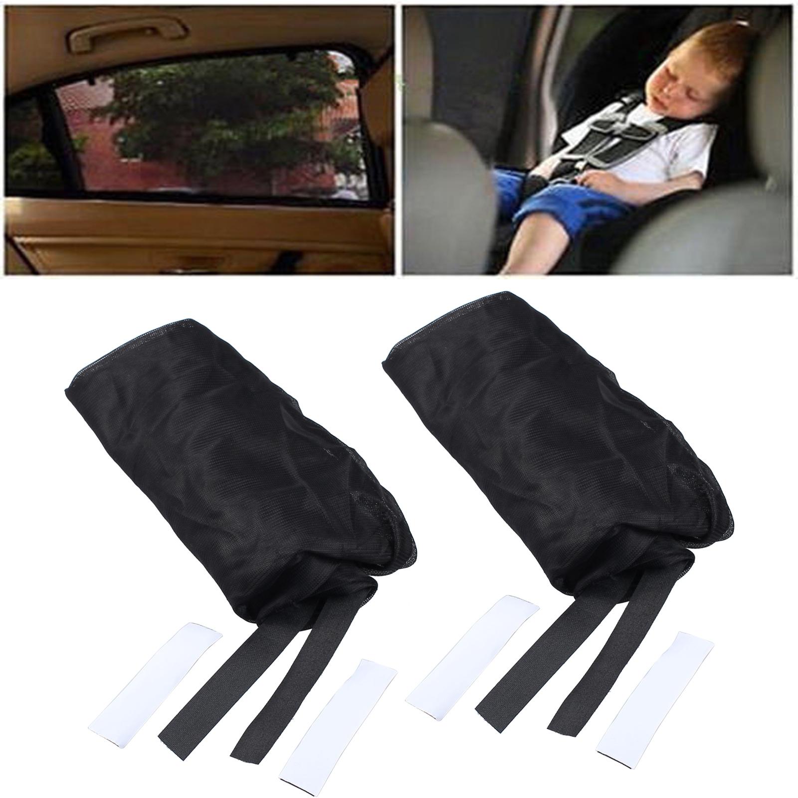 2x universal Auto Pkw Sonnenblende SUV Seitenfenster fr Baby Kinder Sonnenschutz