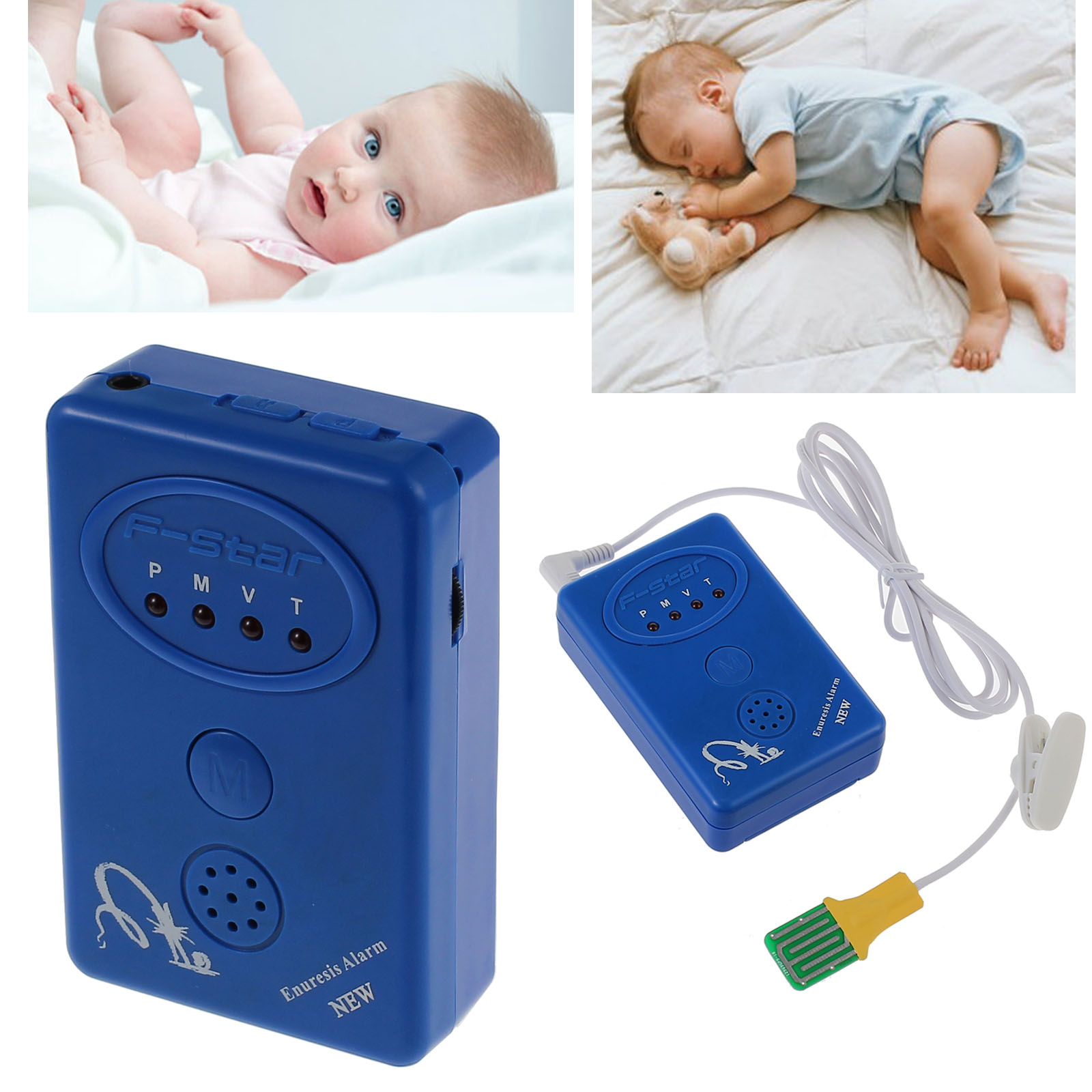 bed alarm wetting enuresis urine baby sensor bedwetting child kid