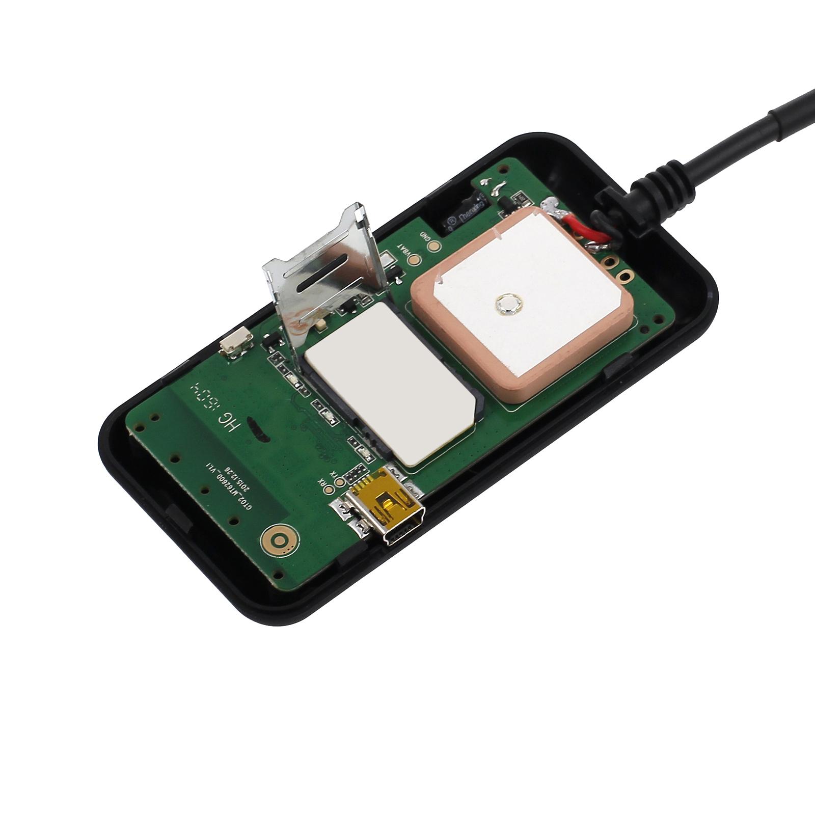 mini gps tracker peilsender tracking system gsm gprs auto. Black Bedroom Furniture Sets. Home Design Ideas