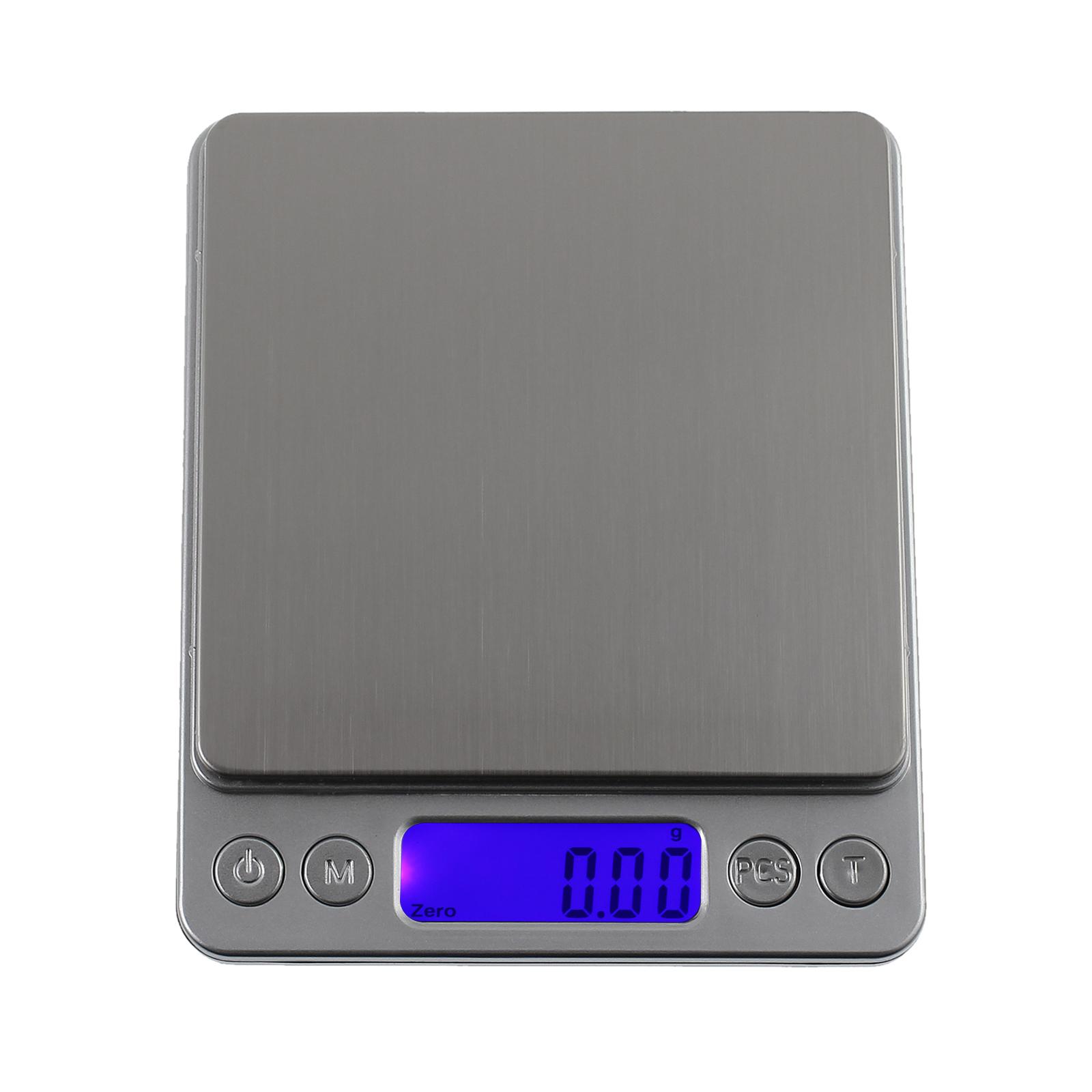 500g x 0.01g Digital Gram Skala Schmuck Gewicht Elektronische Waag Fw