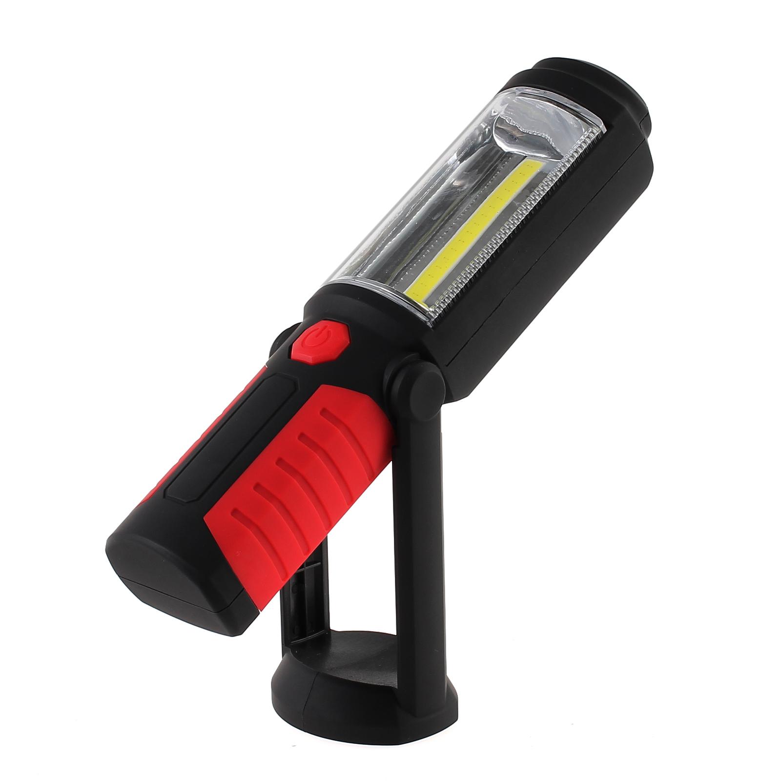 COB Arbeitsleuchte LED AKKU KFZ Taschenlampe Stablampe Werkstatt Lampe Handlampe