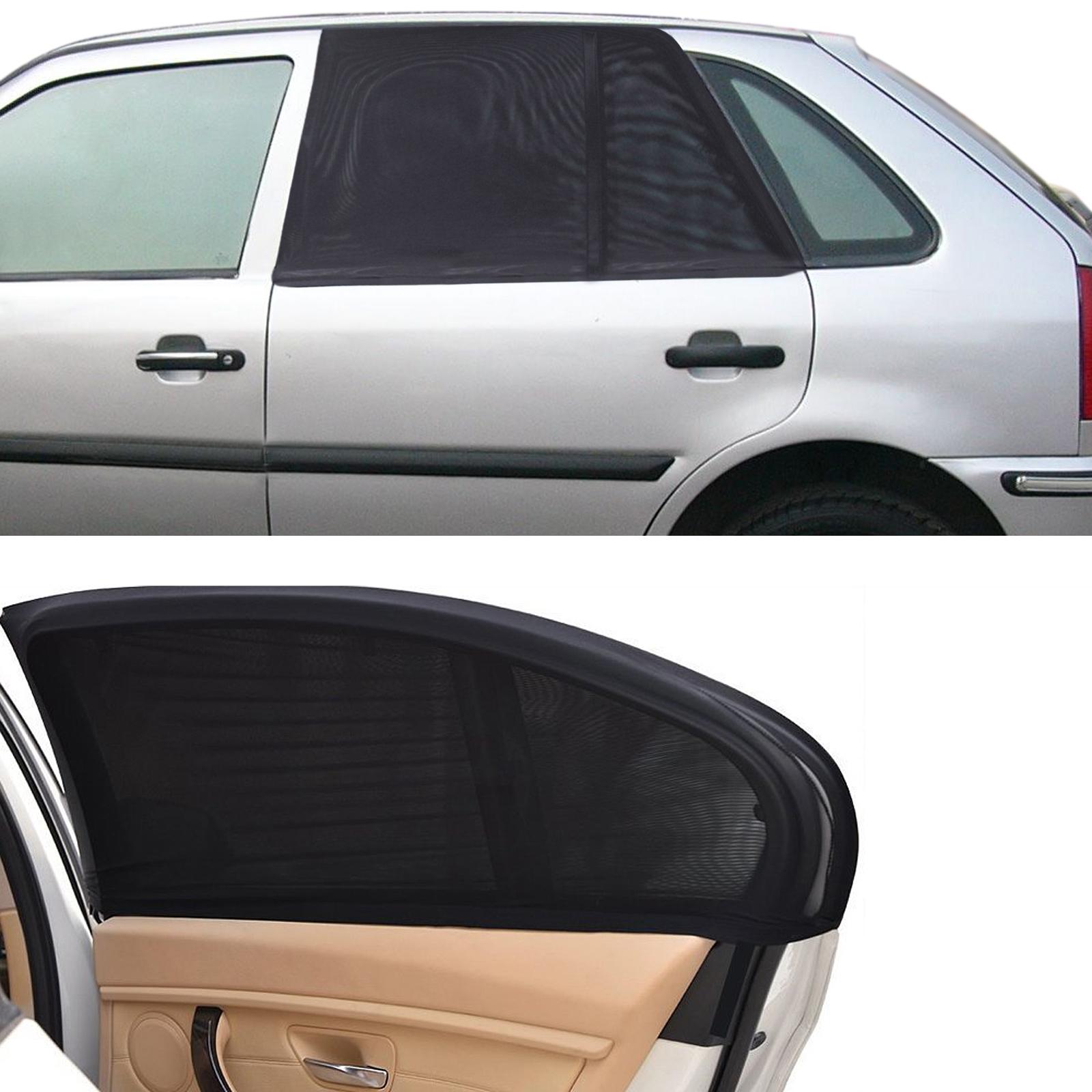2x auto pkw universal sonnenblende suv seitenfenster baby. Black Bedroom Furniture Sets. Home Design Ideas