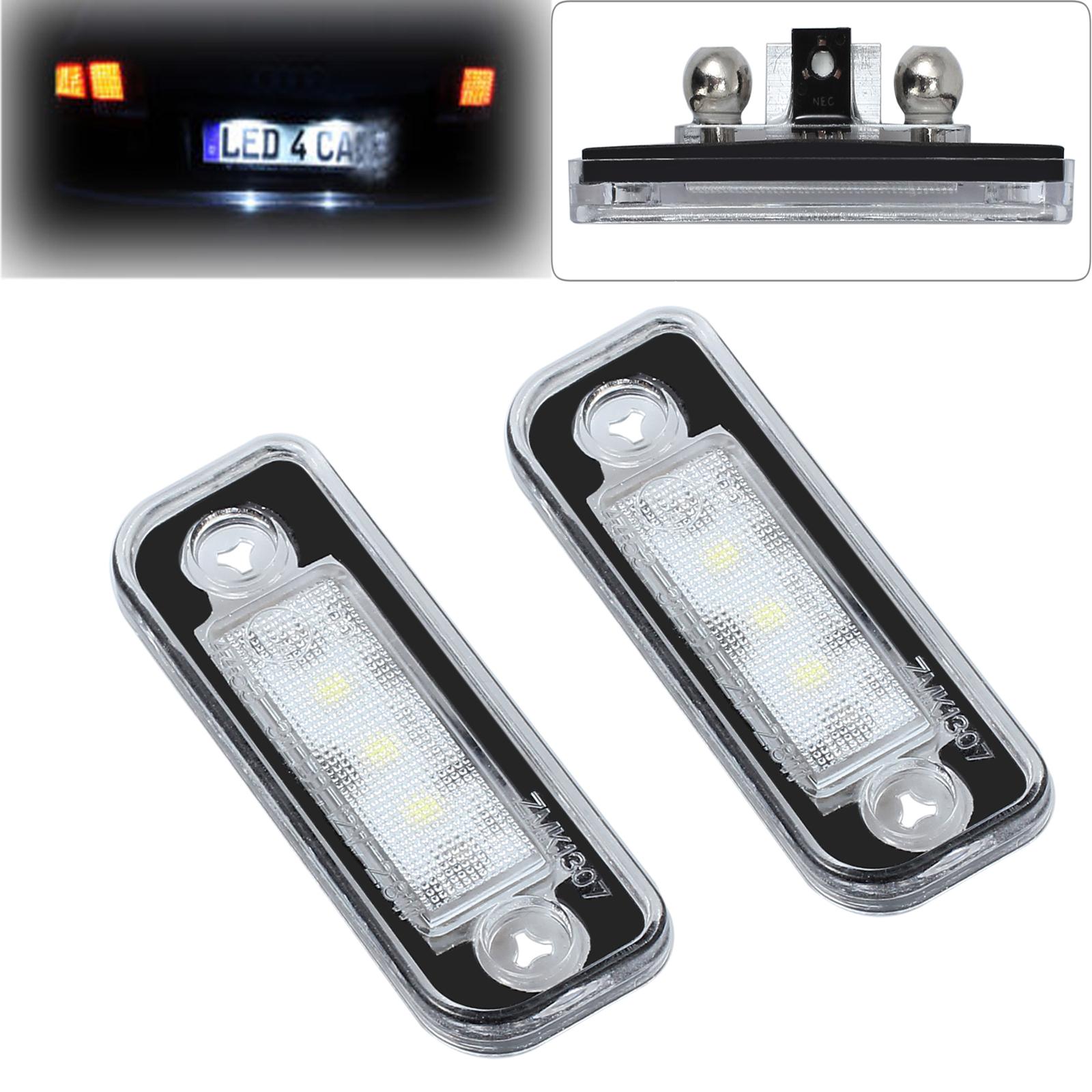 2x LED SMD Kennzeichenbeleuchtung Mercedes Benz SLK R171 S203 W211 S211 1103