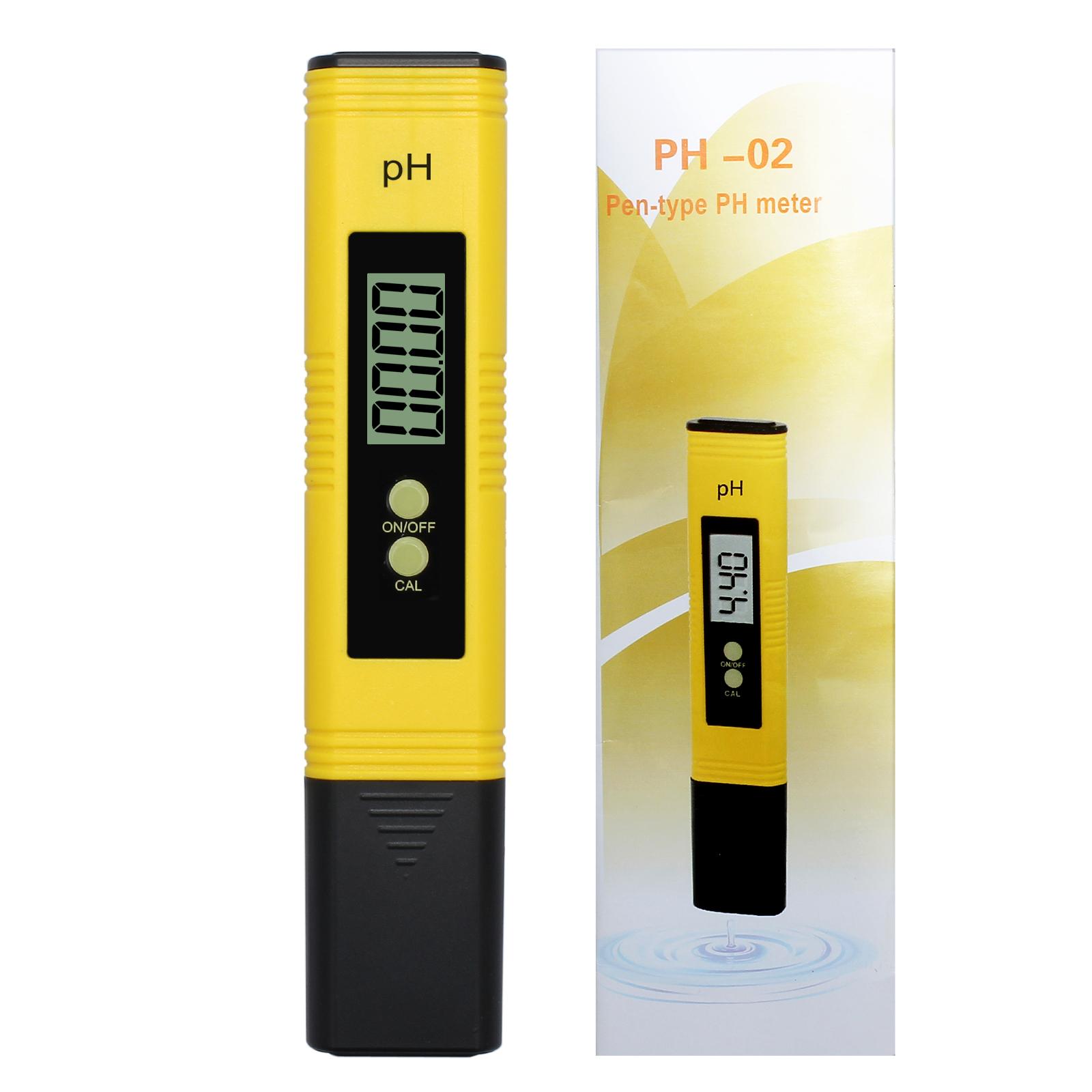 LCD Digital PH Meter Tester Pocket Portable Pool Water Aquarium Hydroponic Wine