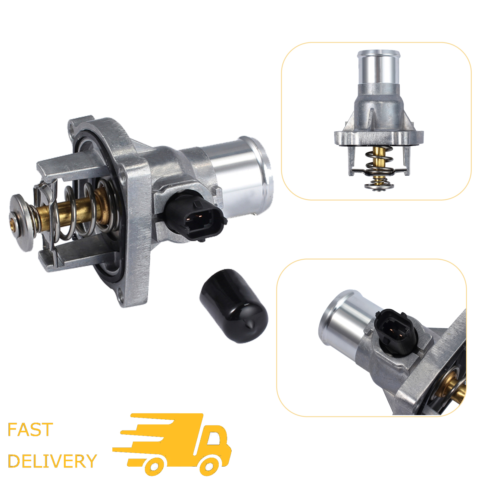 vauxhall engine coolant engine coolant thermostat housing assembly for chevy aveo opel  engine coolant thermostat housing
