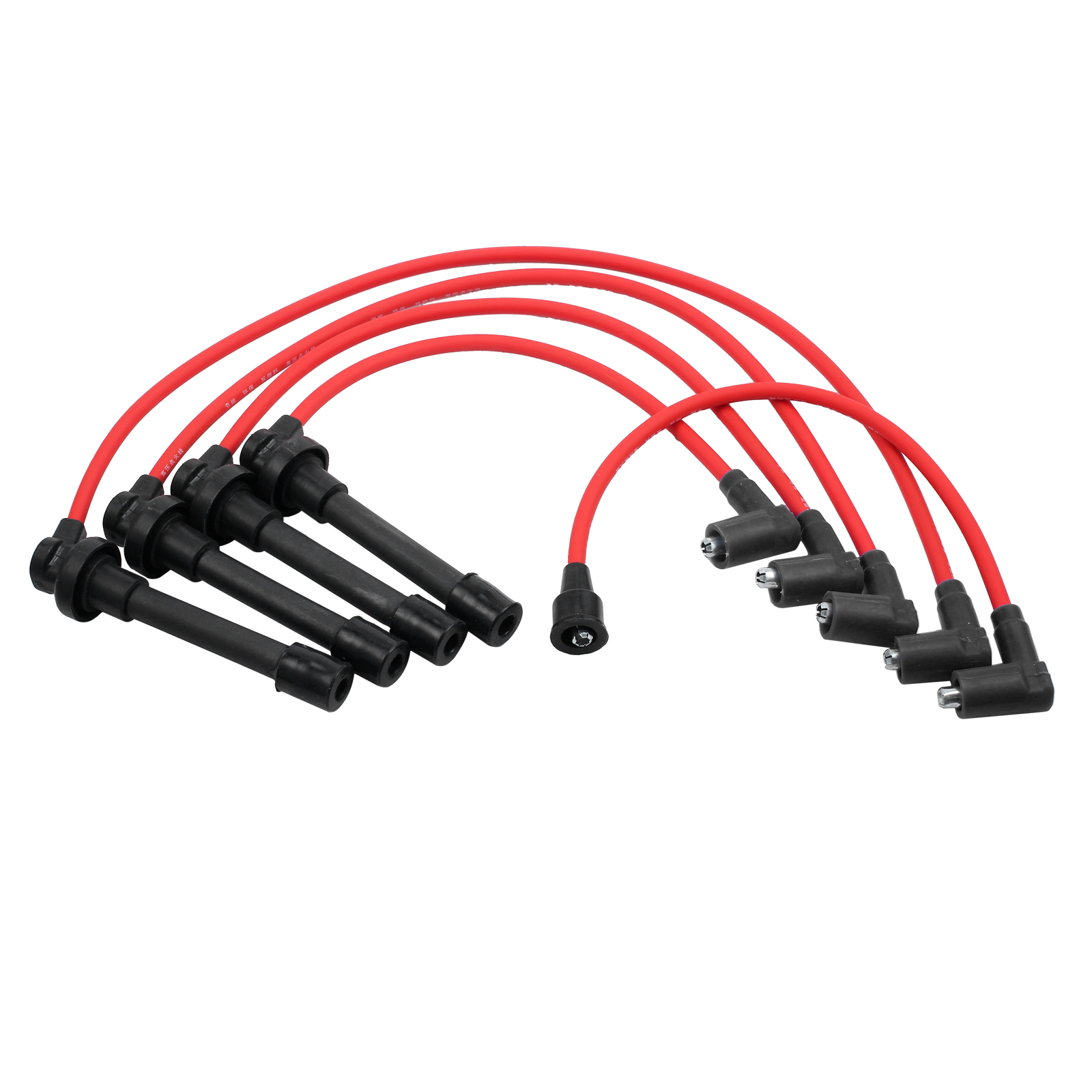 Details about 5pc NEW Spark Plug Ignition Wire Set High Perfomance on